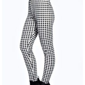 Forever 21 high waisted checkered pants